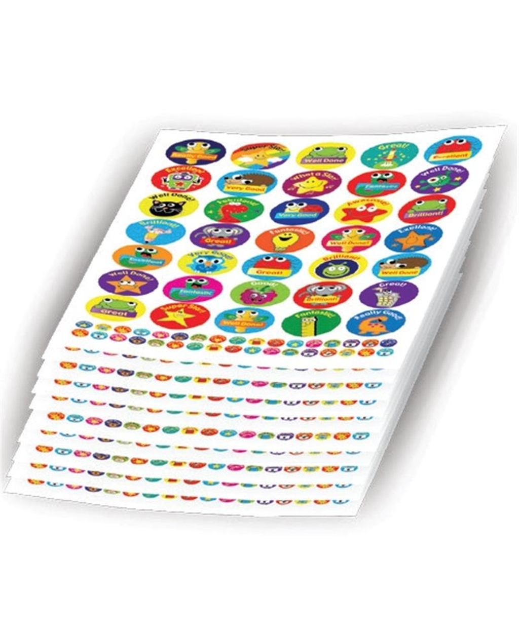 Bulk pack of Animals, Stars and Gadget Bumper -  3450 stickers