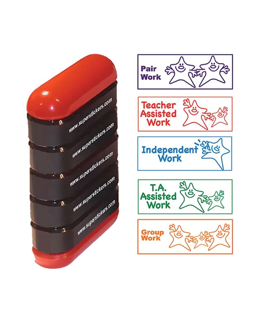 5 in 1 Stamp Pack