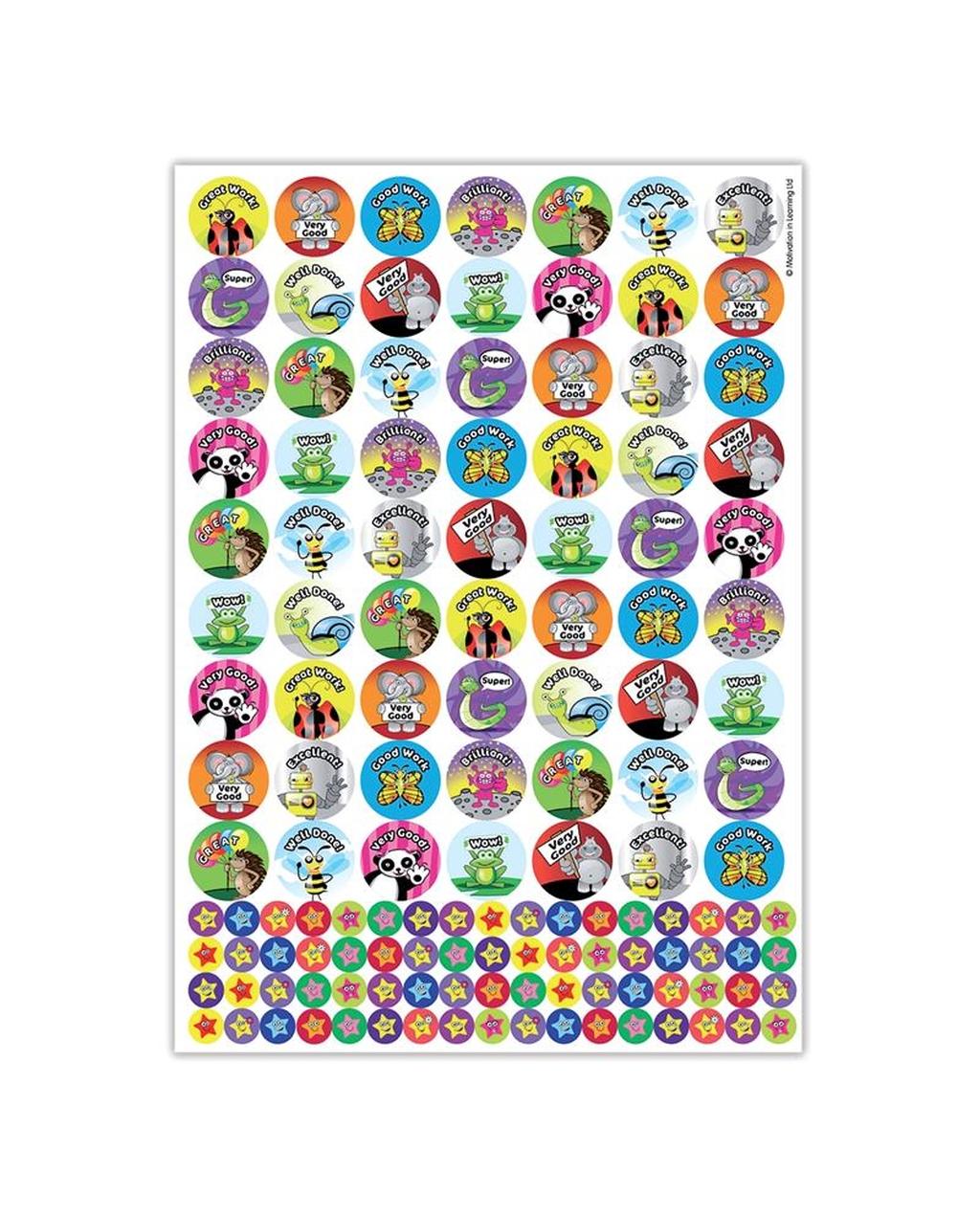 Animal Reward Stickers