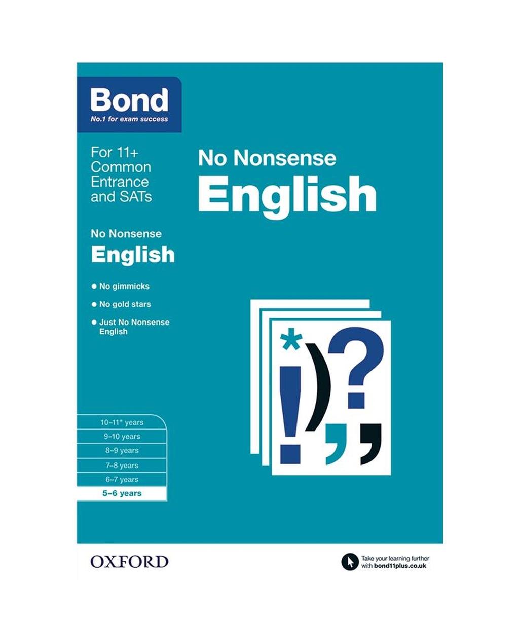Bond: English No Nonsense 5-6 Years
