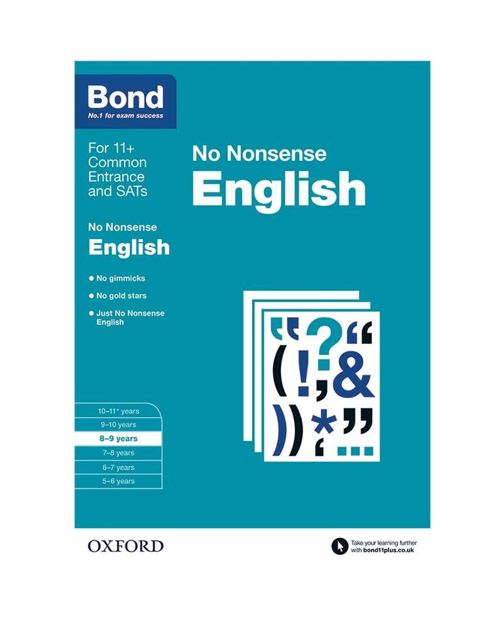 Bond: English No Nonsense 8-9 Years