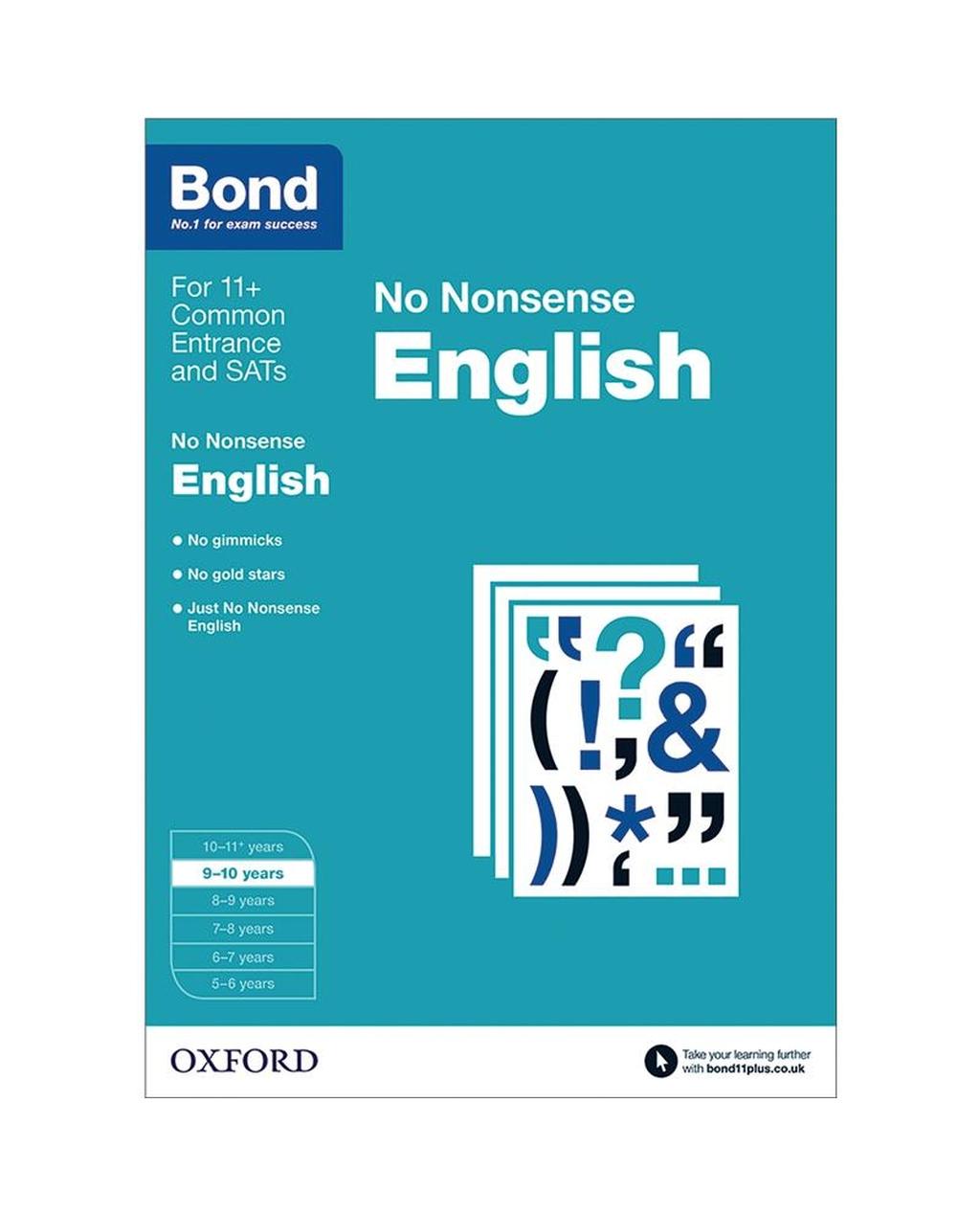 Bond: English No Nonsense 9-10 Years
