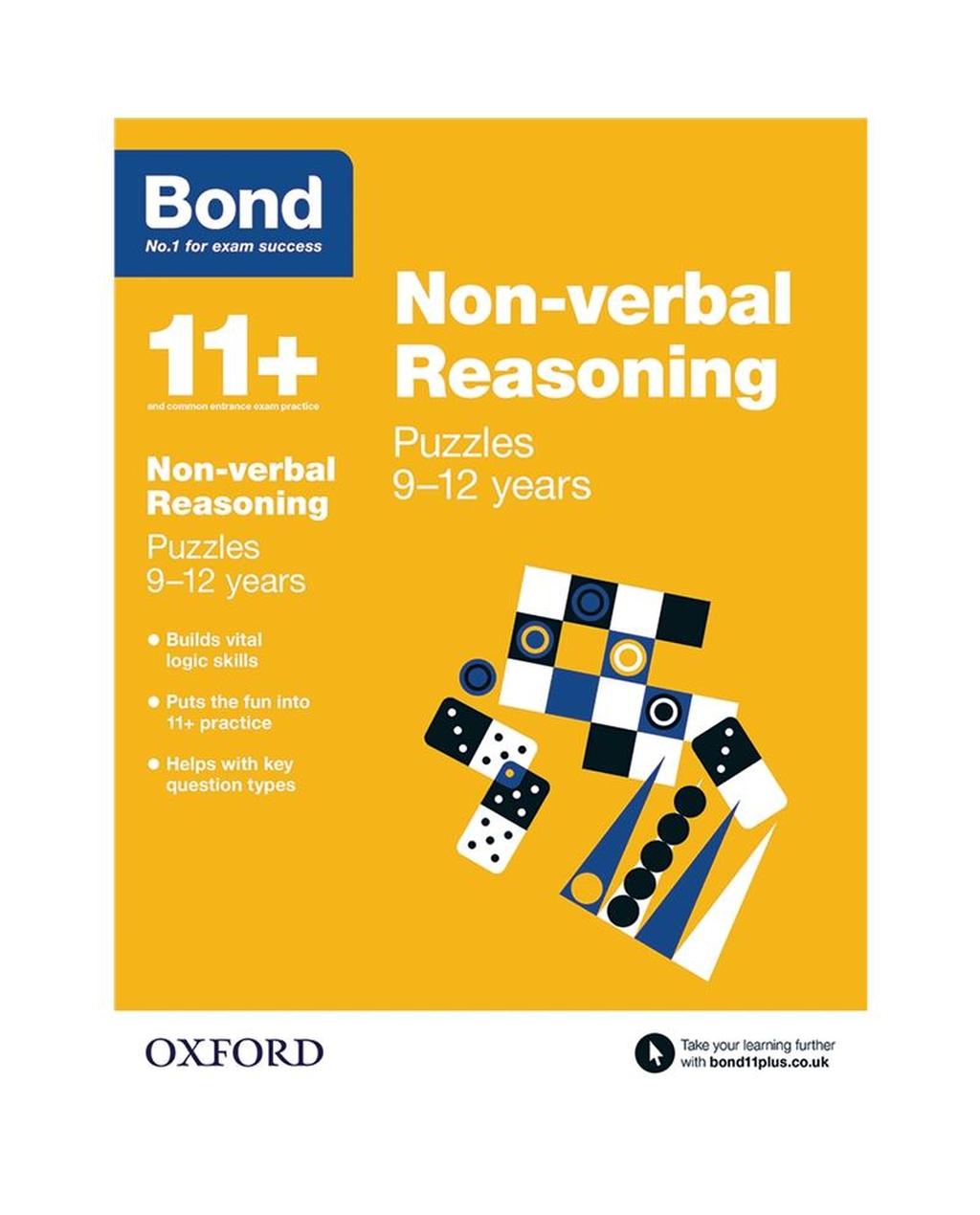 Bond Reasoning Puzzles Non-Verbal Reasoning 9-12 years