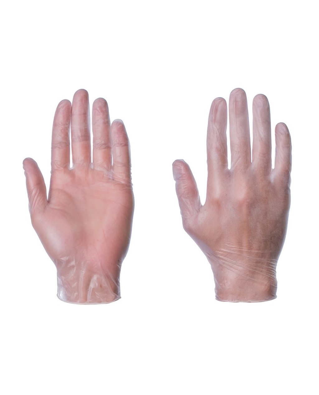 Powder Free Vinyl Gloves, CLEAR - XL