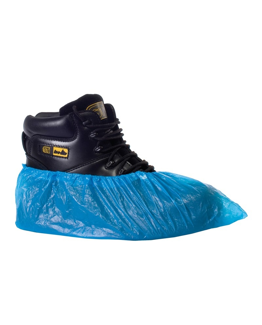 Disposable Overshoes Blue
