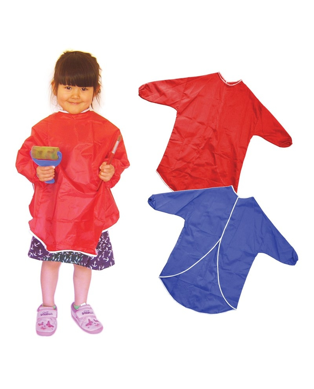 Children's Play Apron 70cm Red