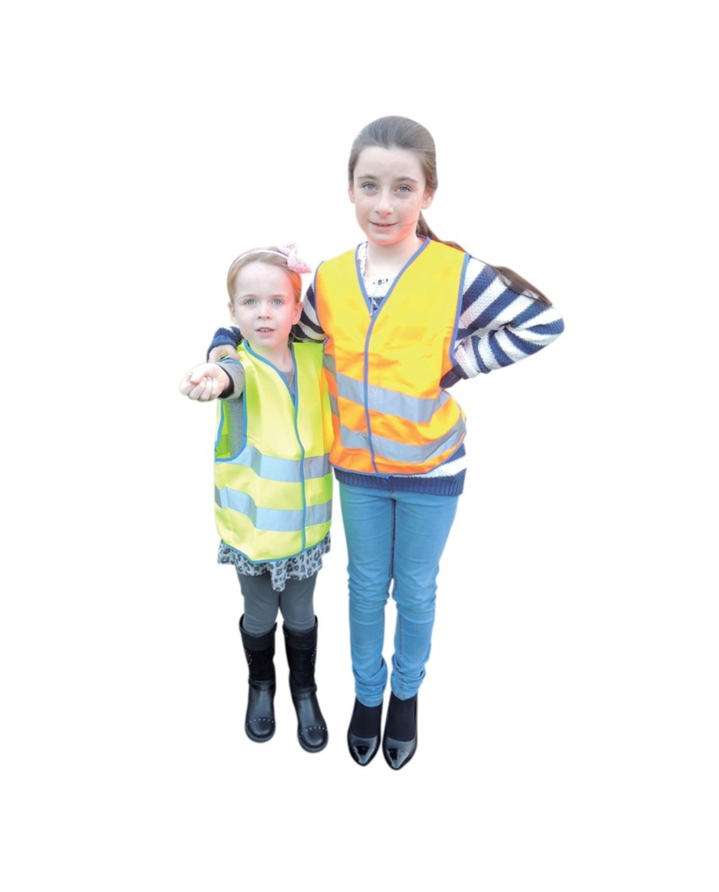 Children's Hi Vis Waistcoat Yellow Medium