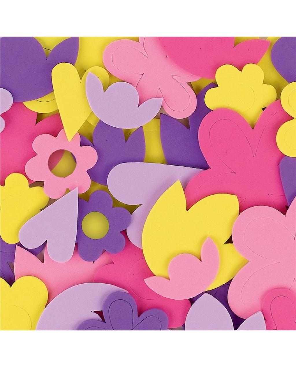 Foam Shapes - Flowers