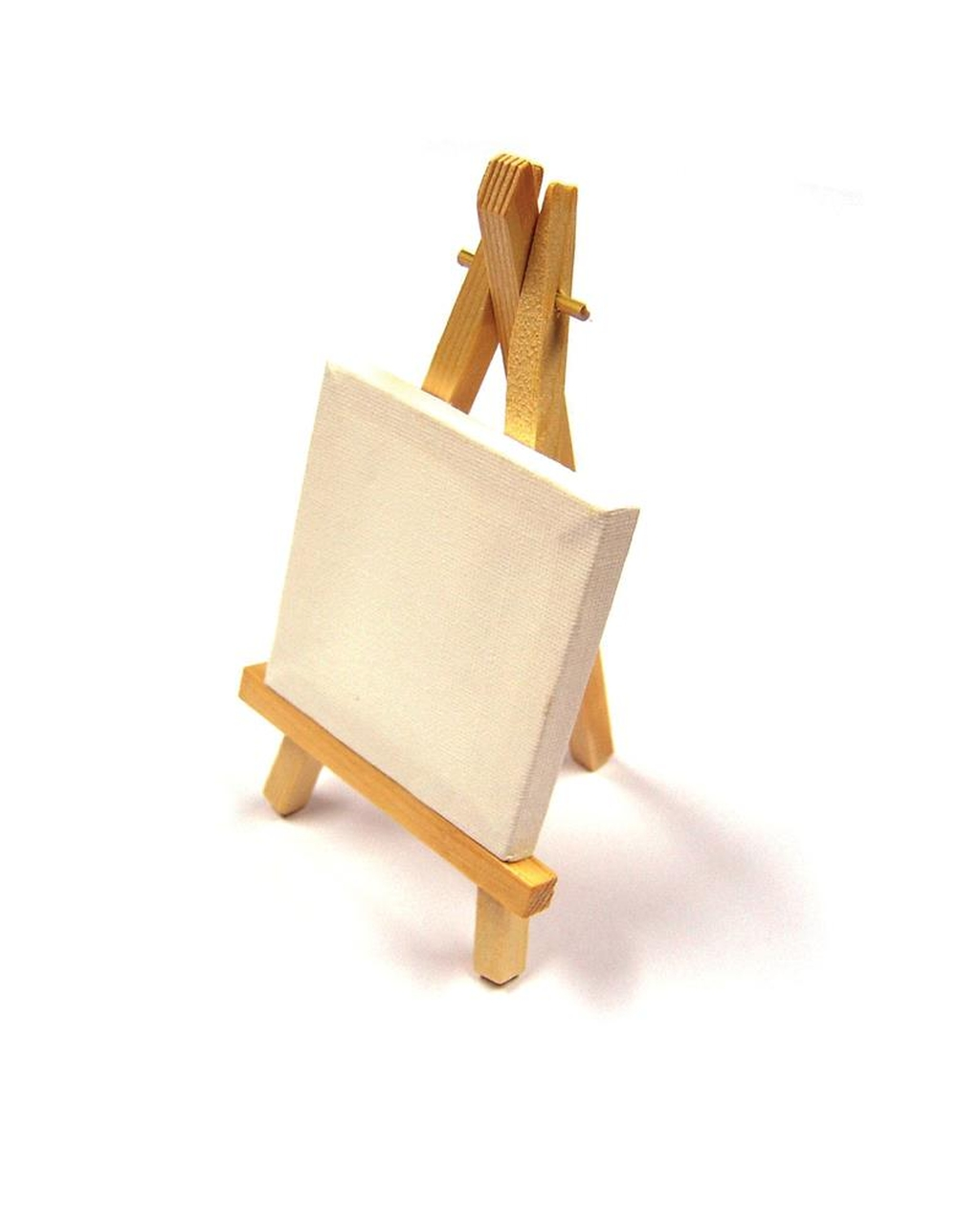 Canvas with Mini Easel 75mm x 75mm