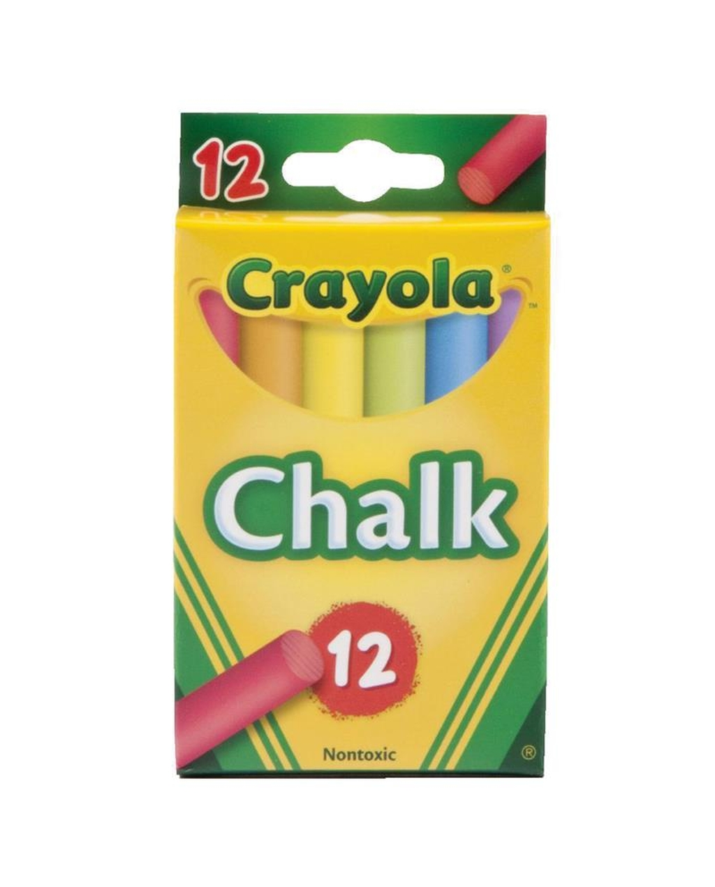 Crayola Chalk Assorted Colours