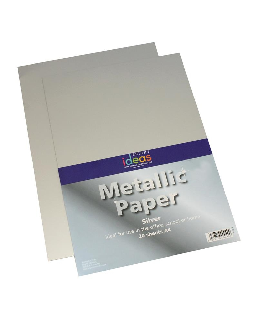 A4 Metallic Paper - Silver
