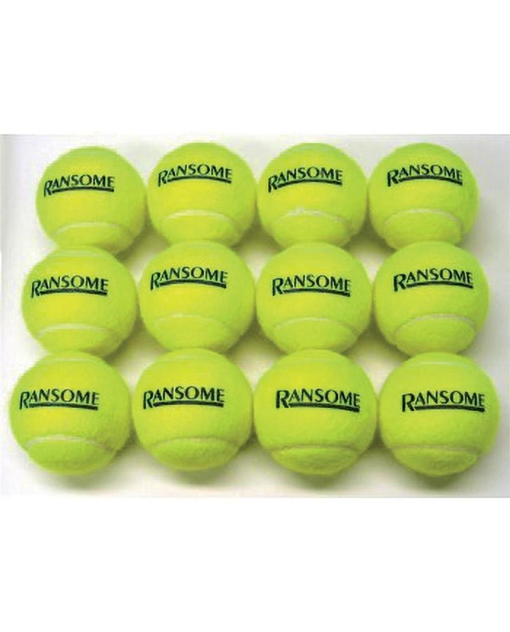 Practice Grade Tennis Balls