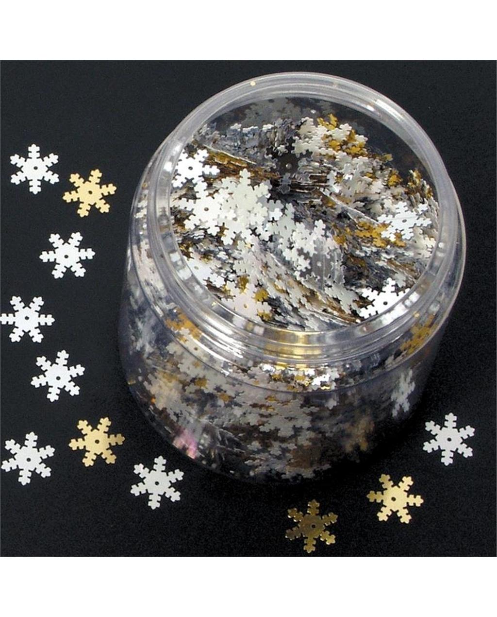 Snowflake Sequins 70g