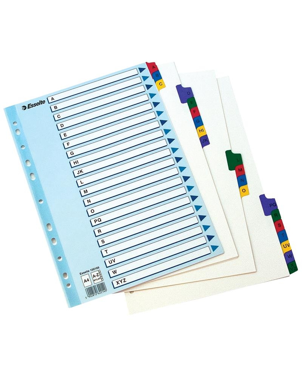 A-Z Mylar Dividers - A4